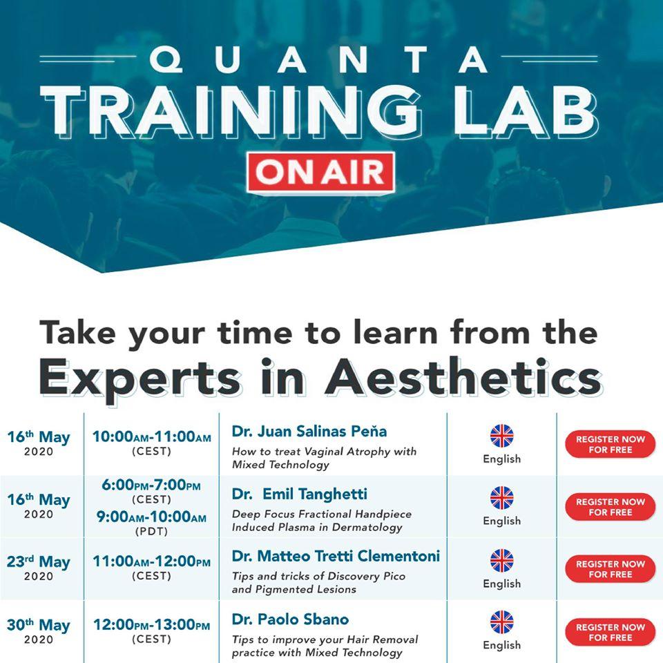 quanta training lab
